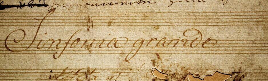 Beethoven score